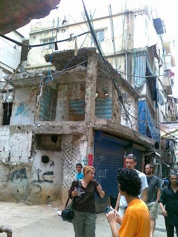 Palestinian refugee camp Beirut