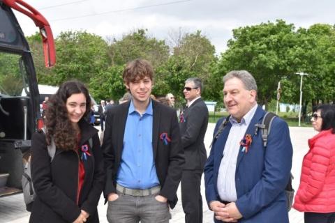 Jannika Koschnitzke, Chris Stolle, Boris Lechthaler