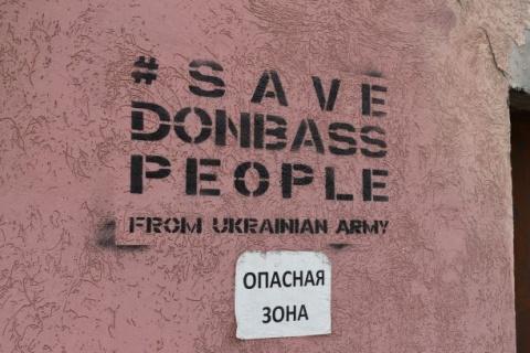 Das Volk des Donbass vor der ukrainischen Armee schützen