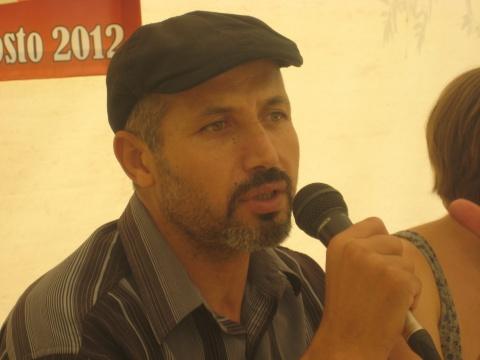 Ajmi Lourimi, member of the political leadership of Enahda Tunisia