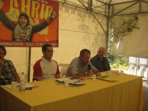 Greece: Petros Al Achmar, KOE; Yiannis Rachiotis, Antarsya; Mikhalis Tiktopoulos