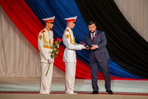Pushilin, president of Donestk Popular Republic