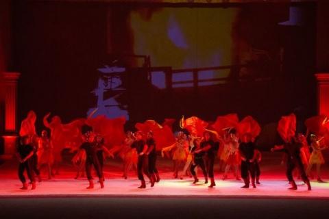 Ballet theme: smeltering