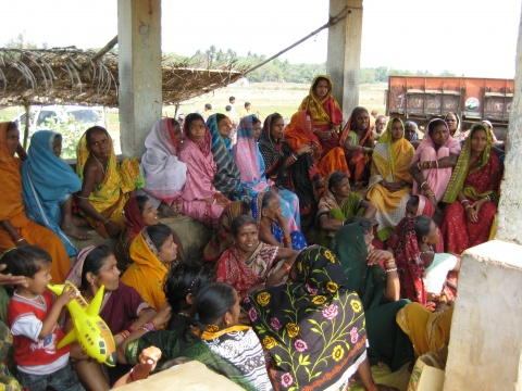 Women picket against Posco