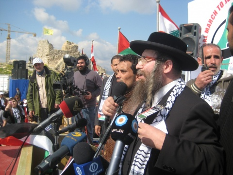 Rabbi from Neturei Karta
