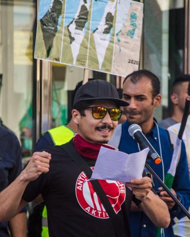 Pedro, Antifaschistische Aktion Wien