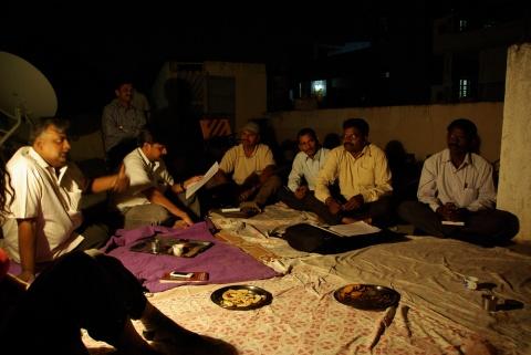 Meeting on the roofs of Hyderabad: Andhra Pradesh Civil Liberties Committee