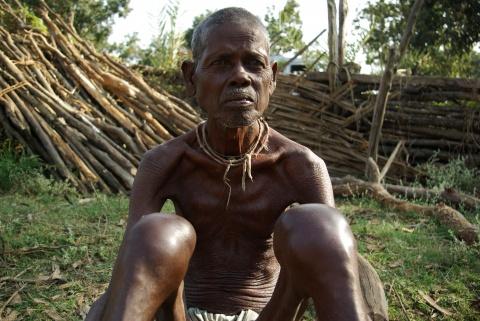 Bandigumpu, a village of displaced belonging to the Gutikoja tribe.