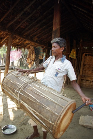 Tudum Debba meaning Adivasi drum.
