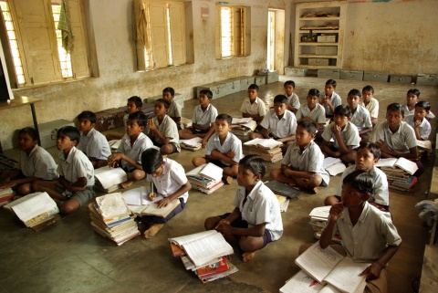 Residential school for Adivasis: only a few percent get serious education.