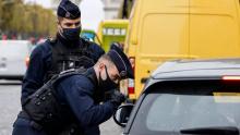 Corona-Lockdown-Polizeikontrollen
