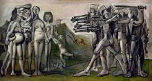 Die Freie Welt am Werk - Picasso: Massaker in Korea 1951