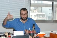 Khaled Saghyeh from Al Akhbar