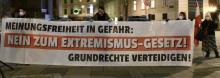 Die Mobilisierungen zum Schutz der Meinungsfreiheit müssen weitergehen!