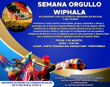 Woche des Stolzes Wiphala