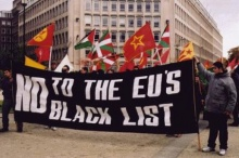Brussel demo No to the EU's Black List