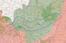 vereinbarter West-Ost-Korridor durch Idlib