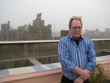 Werner Pirker 2008 in Kairo
