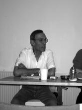 Abduljabbar al Kubaysi in Vienna, 2003