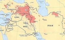 Kurdish settlement areas