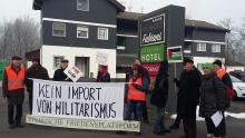Aktion in Mureck, Steiermark, gegen ein Trainingszentrum für Nahkampf geführt von einem ehemaligen israelischen Offizier sowie einem FPÖler.