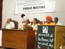 Public meeting New Dehli