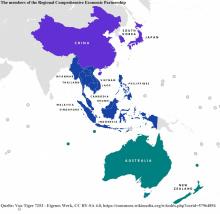 The members of the Regional Comprehensive Economic Partnership