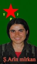 In Kobane gefallene Kämpferin der Frauenverteidigungseinheiten (YPJ)