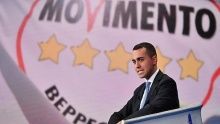 Di Maio, head of the Five Star Movement (M5S)