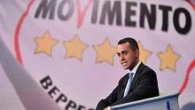 Di Maio, Chef der Bewegung Fünf Sterne (M5S)