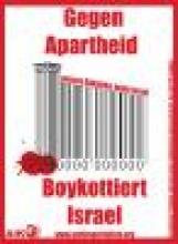 Plakat: Boykottiert Israel